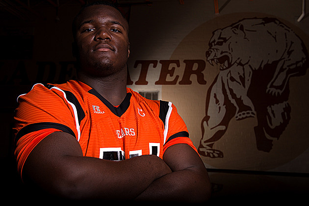 Daylon Mack, Football, Gladewater