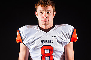 Brook Hill WR Seth Brasher. (Christopher Vinn, ETSN.fm)