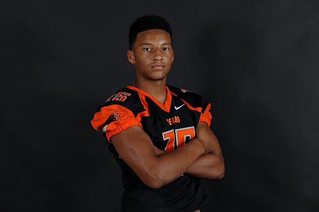 Gladewater safety Austin Hawley received an offer from Lamar on Tuesday. (Rob Graham, ETSN.fm)