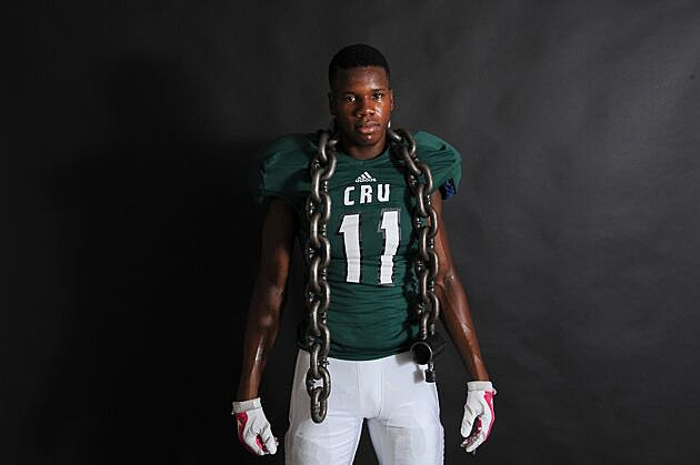 Tyler Bishop Gorman receiver Judah Bell picked up offers from UTSA and Navy on Thursday. (Rob Graham, ETSN.fm)