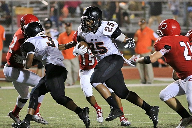 Gladewater's Darnell McKnight (25) is expected to be available Friday. (Jim Frake, ETSN.fm)