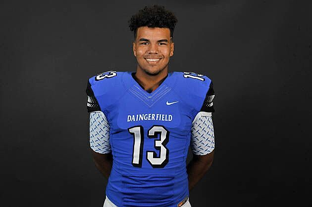 Daingerfield's defensive end Cody Davis picked up an offer Wednesday from Alcorn State. (Rob Graham, ETSN.fm)