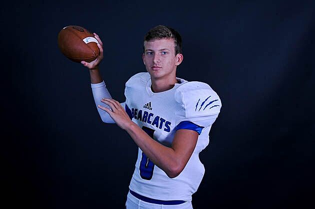 Beckville quarterback Trey Lindsay earned his first offer Wednesday from Houston Baptist. (Rob Graham, ETSN.fm)