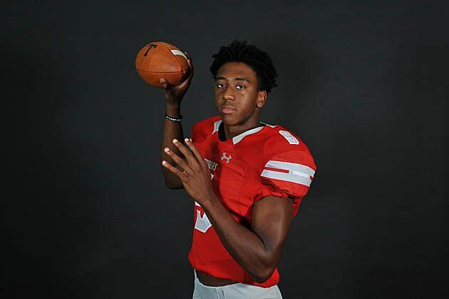 Tyler Lee quarterback Chance Amie received an offer from Syracuse on Wednesday. (Rob Graham, ETSN.fm)