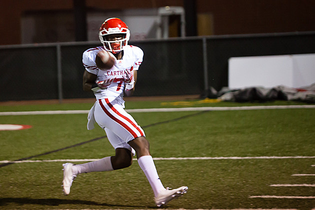 Carthage's Dewaylon Ingram picked up an offer from Arkansas State on Wednesday. (Trey Bell, ETSN.fm)