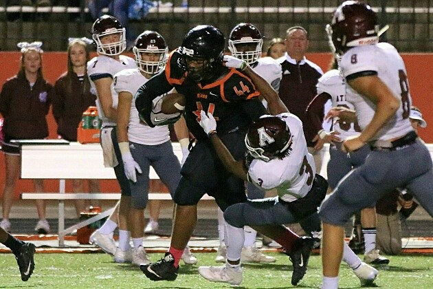 Gladewater tight end Michael Sanchez picked up an offer Sunday from Houston. (Jim Frake, ETSN.fm)
