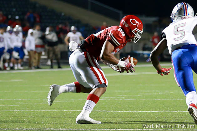 Carthage linebacker Mykel Gates is one of East Texas' most underrated recruits in the 2018 class.
