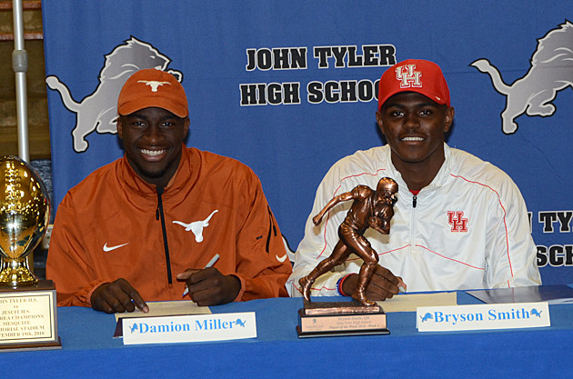 Damion Miller and Bryson Smith Sign Their Commitments