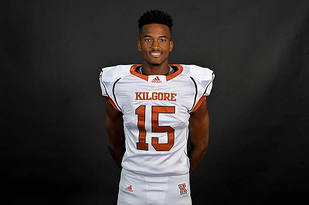 Kilgore receiver Jonathan Shepherd picked up offers from Missouri and North Texas on Thursday. (Rob Graham, ETSN.fm)
